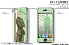 AmiAmi [Character & Hobby Shop] | DezaJacket - Hetalia The Beautiful World iPhone iPhone5/5S Case & Protection Sheet Design 02: Germany