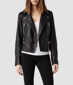 Bleeker Leather Biker Jacket