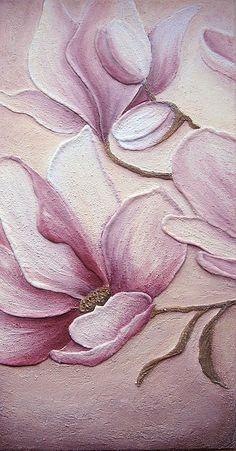 Fresco Magnolia (detail)