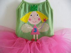 Hey, I found this really awesome Etsy listing at https://www.etsy.com/listing/196267537/ben-and-holly-little-kingdom-tutu-holly