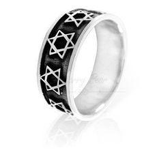 Ring- star of david