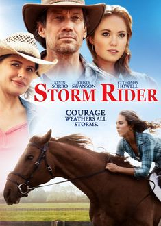 Storm Rider is a 2013 American drama film written and directed by Craig Clyde and starring Kevin Sorbo, Kristy Swanson and C. Thomas Howell. Plot: When her father is put into jail, the spoiled teenager Dani loses everything. Forced to live with her uncle Sam on a farm without horses to ride and to train a sad Dani takes care of a young mule and learns what really counts.