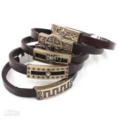 Fashion 10 Styles Mix Wholesale Plain Leather Bracelet Magnetic Clasps Charm Bracelets Perfect Men Christmas Gift Photo Charm Bracelet Leather Charm Bracelets From Cherylz, $1.95| Dhgate.Com