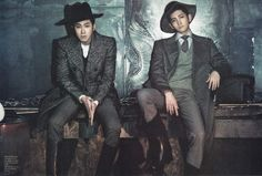 Yunho and Changmin of DBSK