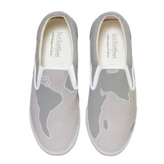Women's Nomad Grey 2 Canvas Shoes - BucketFeet