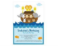 Invitación arca de Noé