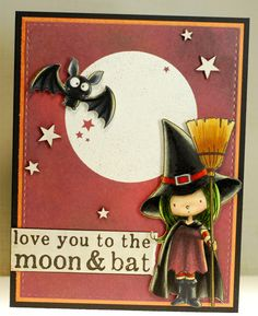 A thousand sheets of paper: Moon and bat...