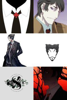 Monogatari Series and Harry Potter crossover Kaiki Deisu as Slytherin