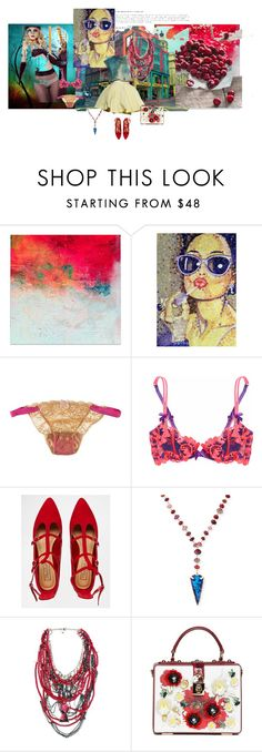"""Una tarde en la ciudad..."" by maryrosa on Polyvore featuring moda, Mimi Holliday by Damaris, Agent Provocateur, Truffle, Devon Leigh, Disney Couture y Dolce&Gabbana"