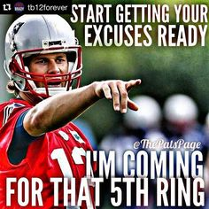 Damn right!!! Get ready haters!!! #patsnationbitches                                                                                                                                                                                 More