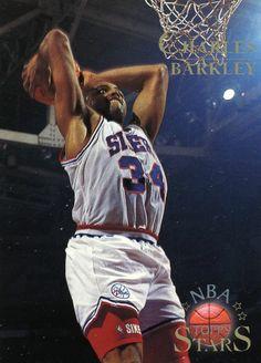 a88ab14c54d RARE 96 97 TOPPS NBA STARS CHARLES BARKLEY PHILADELPHIA 76ers MINT Sports  Basketball
