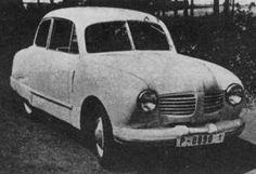 OG  JAWA Aero-Minor Mk3   Prototype dated 1951