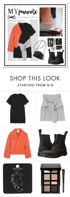 """""""My favorite"""" by emelievv ❤ liked on Polyvore featuring Monki, Roksanda, Dr. Martens, Topshop and Bobbi Brown Cosmetics"""