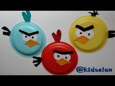 En esta manualidad #isFamilyFriendly os enseñamos cóm hacer Angry Birds con platos de plástico y recortes de hojas de fieltro. Desde @Kidsclan Children esperemos que os guste,  Más manualidades: http://www.youtube.com/playlist?list=PLitvTxn35aoIzz0cMqeLTzf4ZLVQ_eT0q Subscríbete a nuestro canal: http://www.youtube.com/websfertube?sub_confirmation=1 Visita nuestro canal: http://www.youtube.com/websfertube?sub_confirmation=1