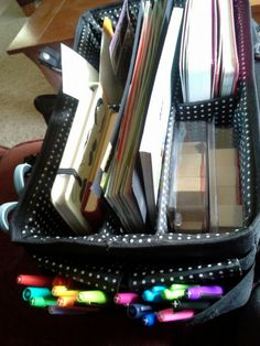 My smashbook bag :) I can smash anywhere! I need to do this! I have the perfect bag!