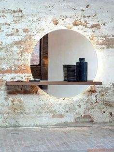 Floating Mirror Shelf ~