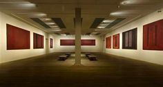 Another room of the Tate Modern that I spent quite a lot of time in - Mark Rothko's Four Seasons.