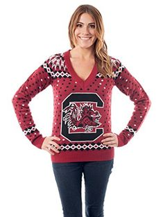 Women's University of South Carolina Sweater: Medium Tips...   #Christmas #gifts click to get more information or how to purchase.