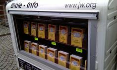 New preaching method debuts in Germany - I love it! A free Vending machine for spiritual truth