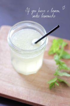 Citronnade à la vanille | Recette du cocktail de notre mariage !