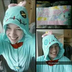 Our #KigurumiFanoftheDay @minimunchlax just got her #Scrump kigurumi and is loving it!   Thanks for the pic friend!  www.kigurumi-shop.com <3
