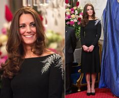Kate, William and Prince George headed Down Under for a three week tour. During a state dinner, the Duchess wore bespoke Jenny Packham.