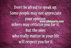 Keeping your feelings bottled up will only build resentment & dis-ease. Speak your #truth with kindness & compassion & earn the #respect you deserve. #SpeakUp #YouMatter