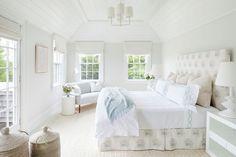 Boudoir, Home Interior, Interior Design, Nantucket Beach, Headboard With Lights, Transitional Bedroom, Coastal Cottage, Coastal Style, Coastal Living