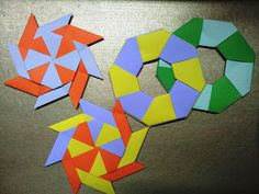 Kids love this ninja star idea.  You can actually make it out of square post-its too.