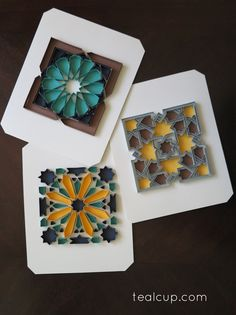 tealcup quilling gallery - Alhambra