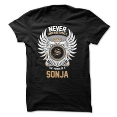 Never Underestimate The Power of a SONJA - #tshirt recycle #hoodie tutorial. BUY-TODAY => https://www.sunfrog.com/Names/Never-Underestimate-The-Power-of-a-SONJA.html?68278