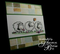 Feeling Sheepish by Lexa_Stone - Cards and Paper Crafts at Splitcoaststampers