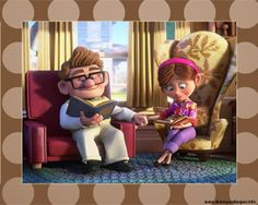 """I want a His and Hers armchair of complementary, not matching designs, like in Pixar's """"Up."""""""