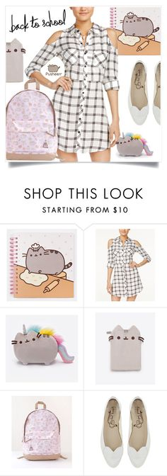 """""""#PVxPusheen"""" by captainsilly ❤ liked on Polyvore featuring Pusheen and Material Girl"""
