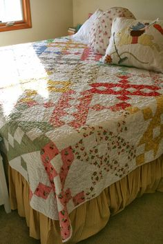 Sewn With Grace: Three Steps Forward Quilt (from the book Large-Block Quilts)