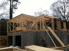 0 904 Williamson Project-Framing the addition Free Interior Design, Interior Decorating, House Design, Cabin, House Styles, Frame, Projects, Home Decor, Picture Frame
