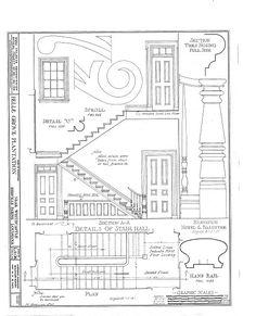 HABS LA,24-WHICA.V,1- (sheet 33 of 36) - Belle Grove, White Castle, Iberville Parish, LA