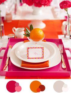 Patente Palette: pink und orange gegen Herbsttristesse - Hochzeitsblog Fräulein K. Sagt Ja