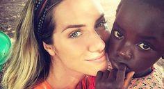 Giovanna e Chissomo. . Muito amor Brasil e África; <3