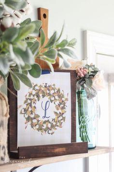 Cotton Wreath Free P