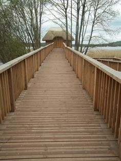 Brown Decking Strips, Applied directly onto existing wooden decking - Giving it a completely new modern look.