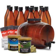 21 Beer Connoisseur Gift Ideas: Homebrew Beer Making Kit
