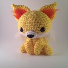 Amigurumi Pokemon Instructions : Fennekin pokemon crochet amigurumi by Poolvos.deviantart ...