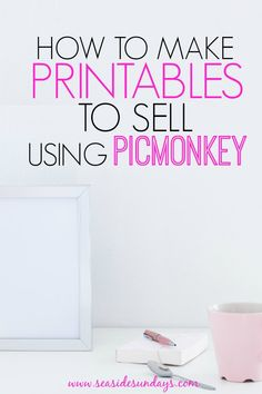 Make money by learning to make printables to sell on Etsy. This free tutorial is a step by step guide to making printables you can give away on your blog or sell online. Make printable artwork, nursery art or invitations