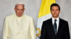 Peña Nieto: México quiere al Papa por su sencillez, bondad y calidez