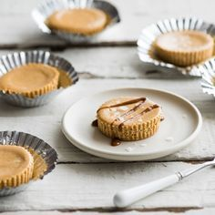 Bocaditos de Cheesecake de Dulce de Leche con Sal Marino