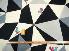 2014 Mosaik Echino-Stoff-schwarz von von KateJapanesefabric
