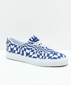 Diamond Supply Co. Avenue QS Blue & White Shoes Diamond Supply Co, White Shoes, Blue And White, Sneakers, Fashion, Off White Shoes, Tennis, Moda, Slippers