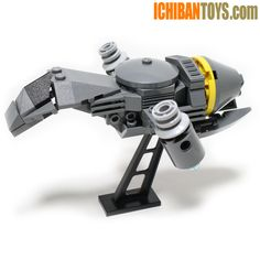 New LEGO Custom Joss Whedon's Firefly Serenity Ship with VTOL