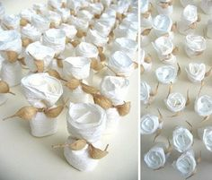Liliana Broussard: Paper wedding   portaconfetti